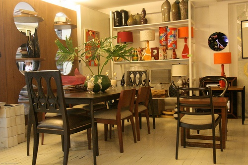 Dining Room Furniture On Display Everything Is For Sale