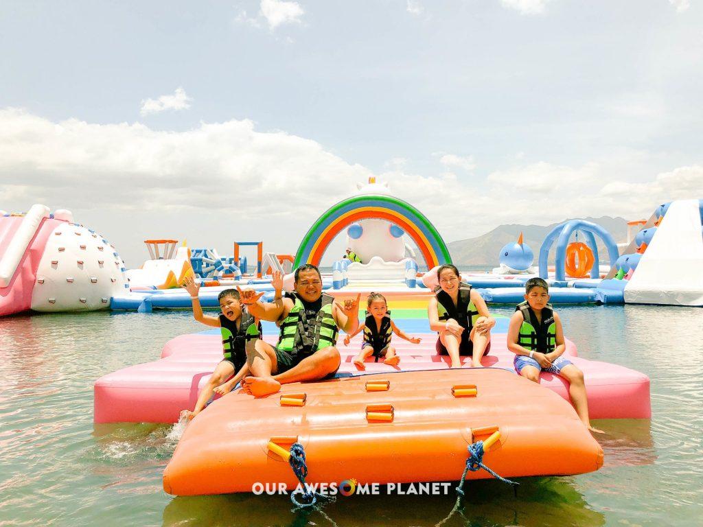 Subic Water Park Hopping: Inflatable Island • Adventure Beach • Aqua Planet