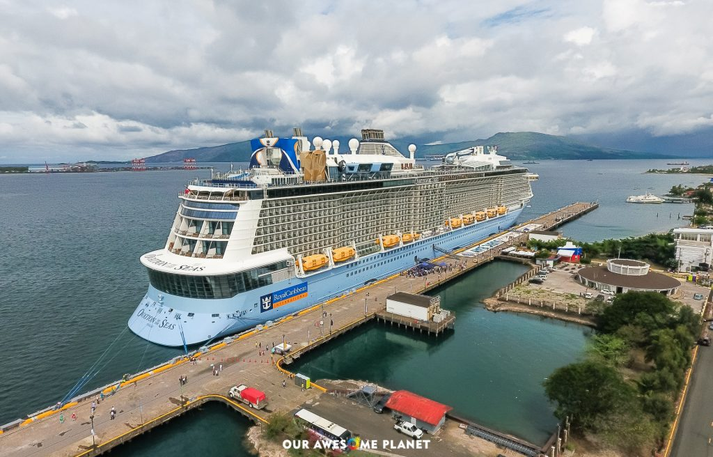 Asia's Largest Cruise Ship 'Ovation of The Seas' Makes Double Maiden Call at Subic Bay and Manila! @RoyalCaribbean