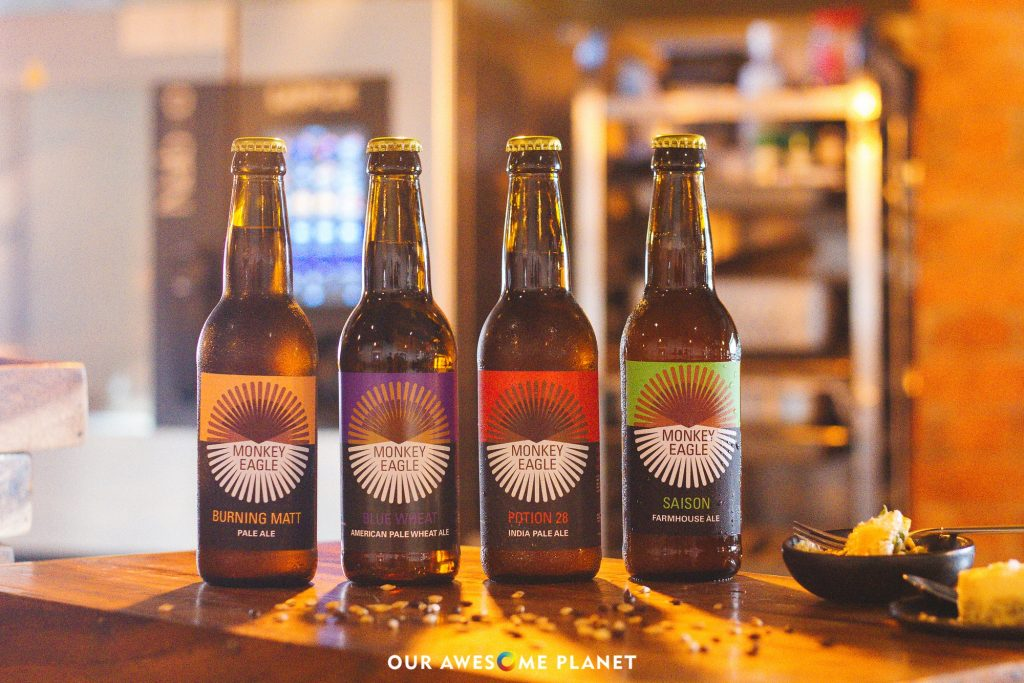 Monkey Eagle x Privatus Private Dining: Craft Beer & Food Pairing 101