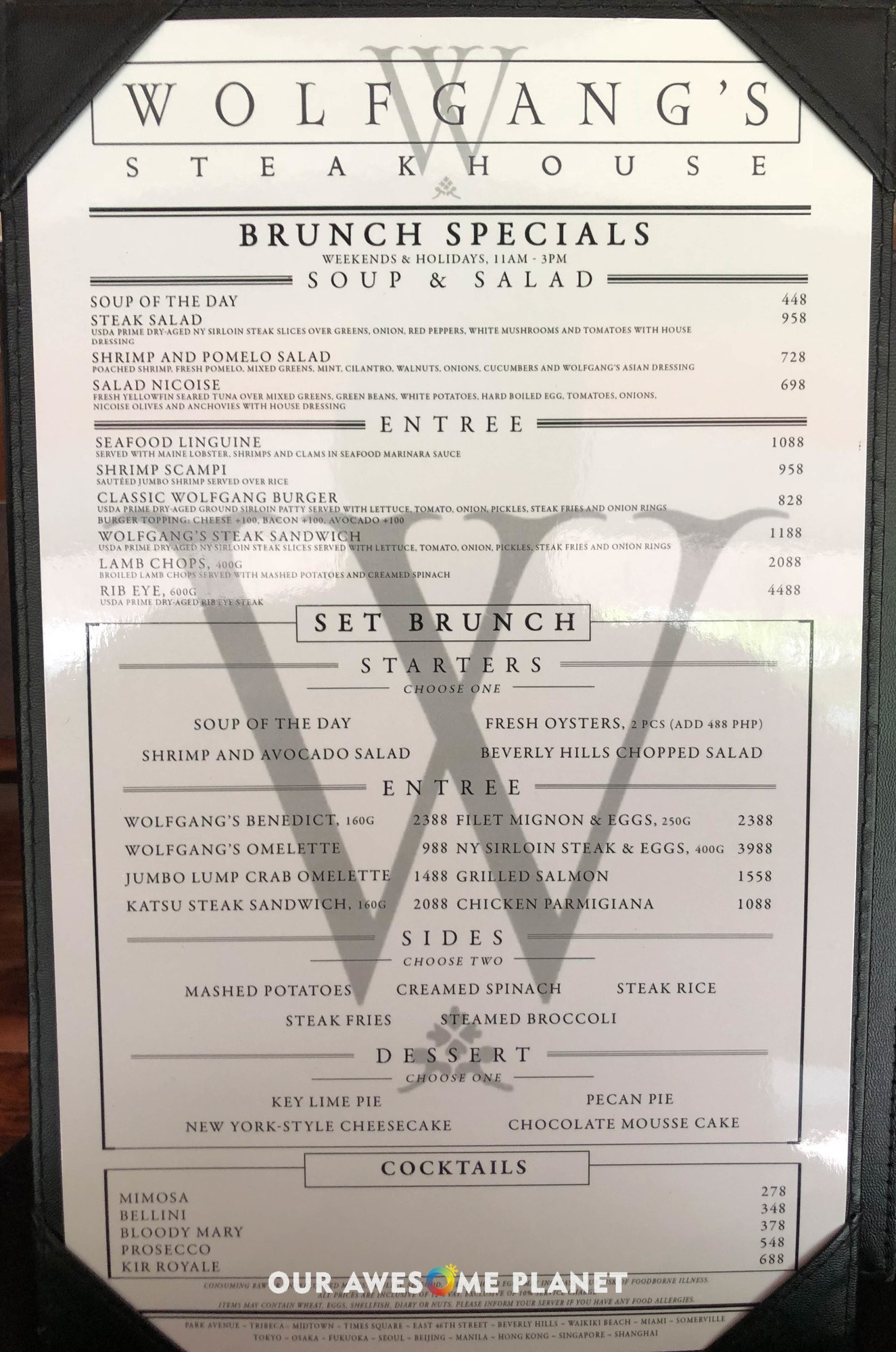 Wolfgang Steakhouse Bgc Best Steak Brunch In Manila Onebhseats Awesome